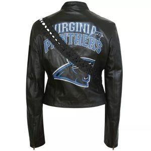Dolce & Gabbana Virginia Panthers Leather Jacket